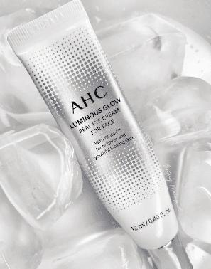 Review-AHC-Luminous-Glow-Real-Eye-Cream-for-Face-bintangmahayana-com