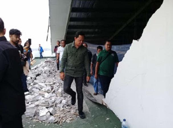 Gedung Baru DPRD Kota Bogor Ambruk, Siapa yang Bertanggung Jawab?