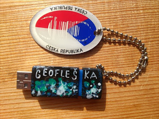 geofleška, geoflash, geoUSB (autor: Sebastián Wortys)