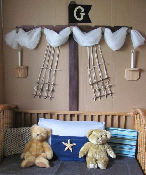 Pirate Ship Bed CriB BOAT canopy   pirate bedrooms - pirate themed furniture - nautical theme decorating ideas - pirate theme bedroom decor - Peter Pan - Jake and the Never Land Pirates - pirate ship beds - boat beds - pirate bedroom decorating ideas - pirate costumes