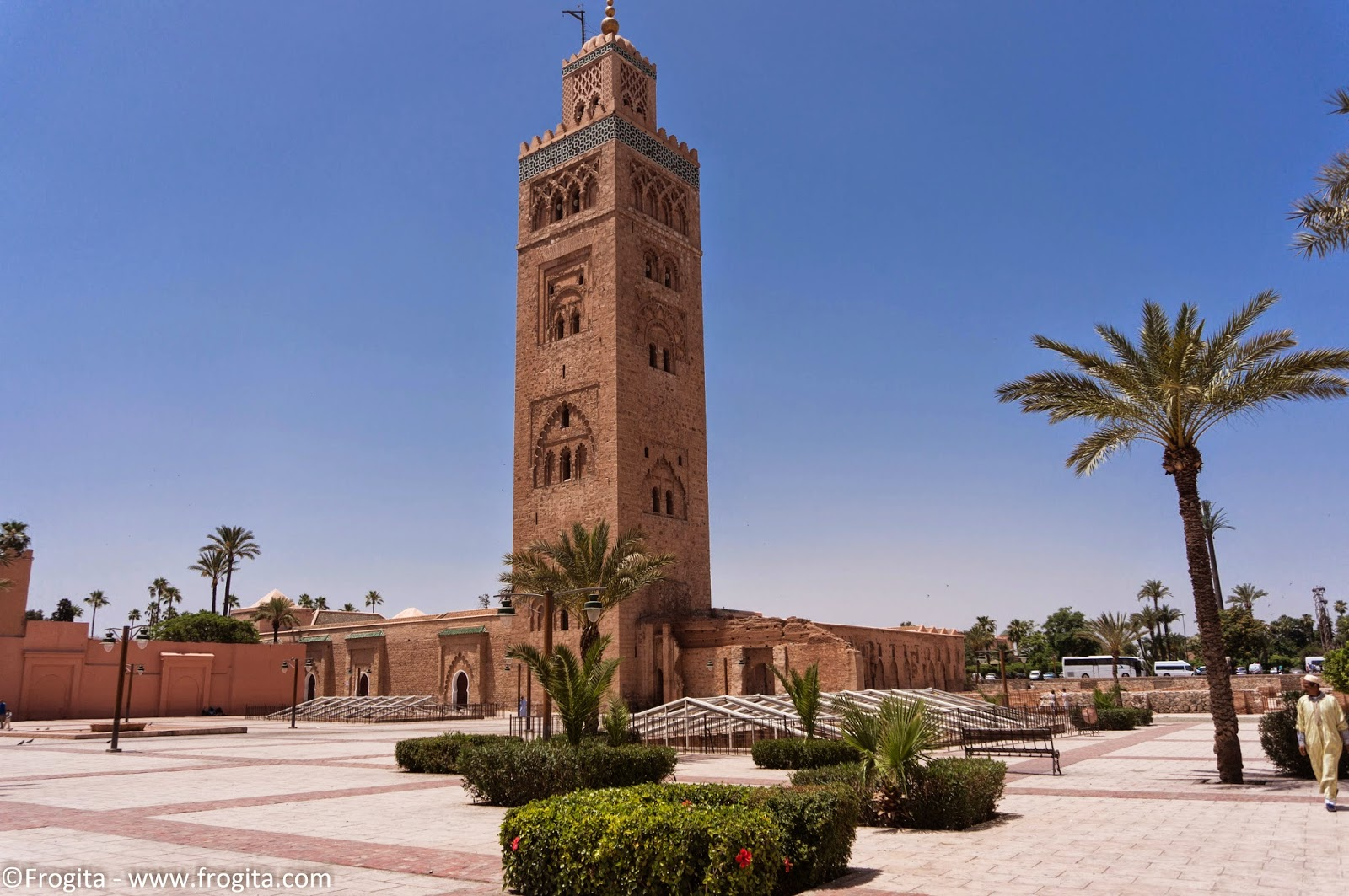 koutoubia mosque of islamic landmarks entrenched in the. Black Bedroom Furniture Sets. Home Design Ideas