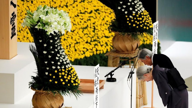 """El emperador Akihito expresa su """"profunda contrición"""" por el papel de Japón en la II Guerra Mundial"""