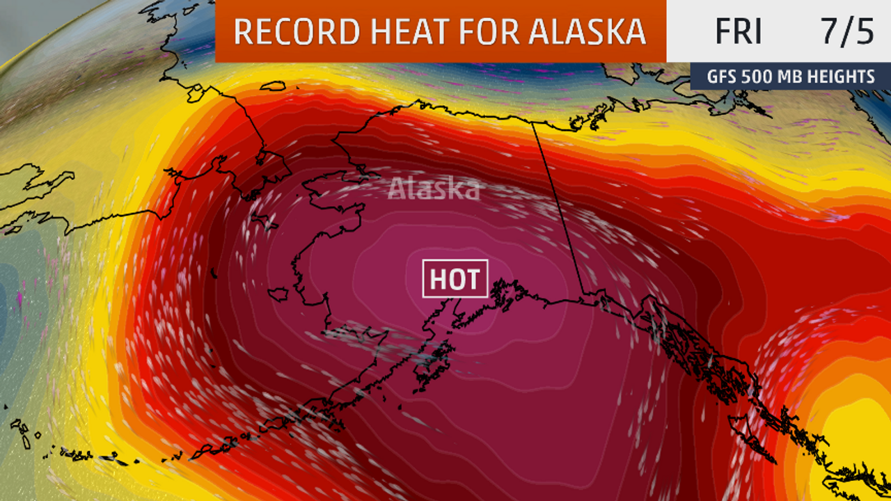 Anchorage, Alaska's Largest City, Hit 32.2°C (90°F) For The First Time In History