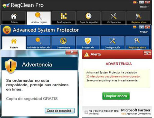 Cómo eliminar RegClean Pro - Advanced System Protector