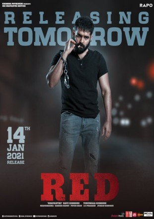 Red 2021 Full Hindi Dubbed Movie Download HDRip 720p
