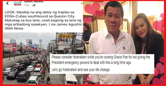 Fearless Manila Bulletin writer strongly bats for Federalism to end EDSA & Metro Manila traffic woes in one stroke?   PTN