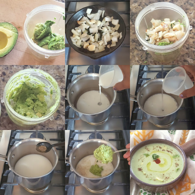 images of Avocado Soup Recipe / A Simple Avocado Soup Recipe - Soup Recipes