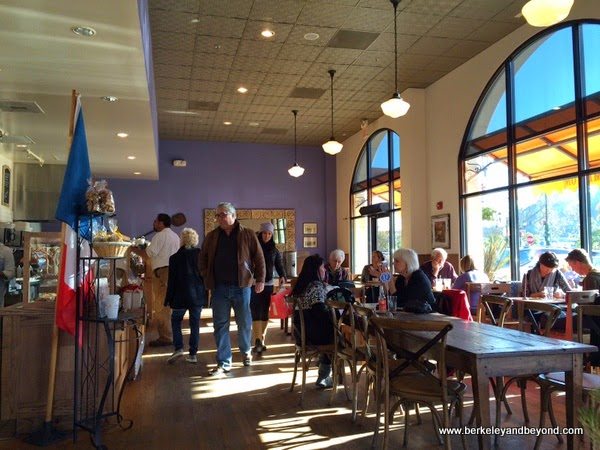 interior of La Boulange in Novato, California