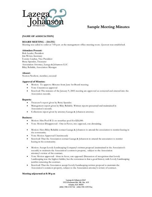 Contoh Notulen Rapat Perusahaan Swasta (MOM) Minutes of Meeting atau Memo Of Meeting