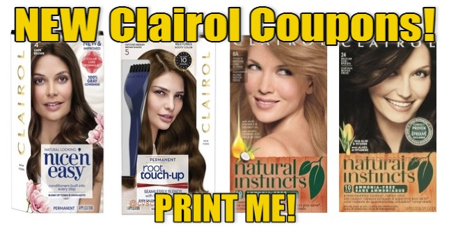 Clairol Coupons Print Now