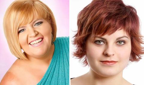 model rambut wanita gemuk wajah bulat