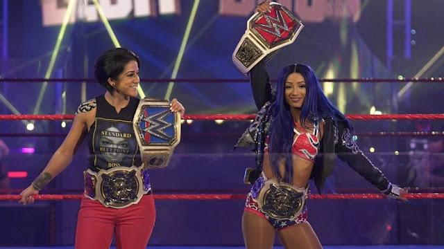 Sasha Banks y Bayley gobiernan la división femenina de WWE