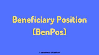 benpos meaning