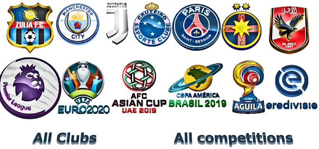 PES 2018 3D Logo for All Competitions