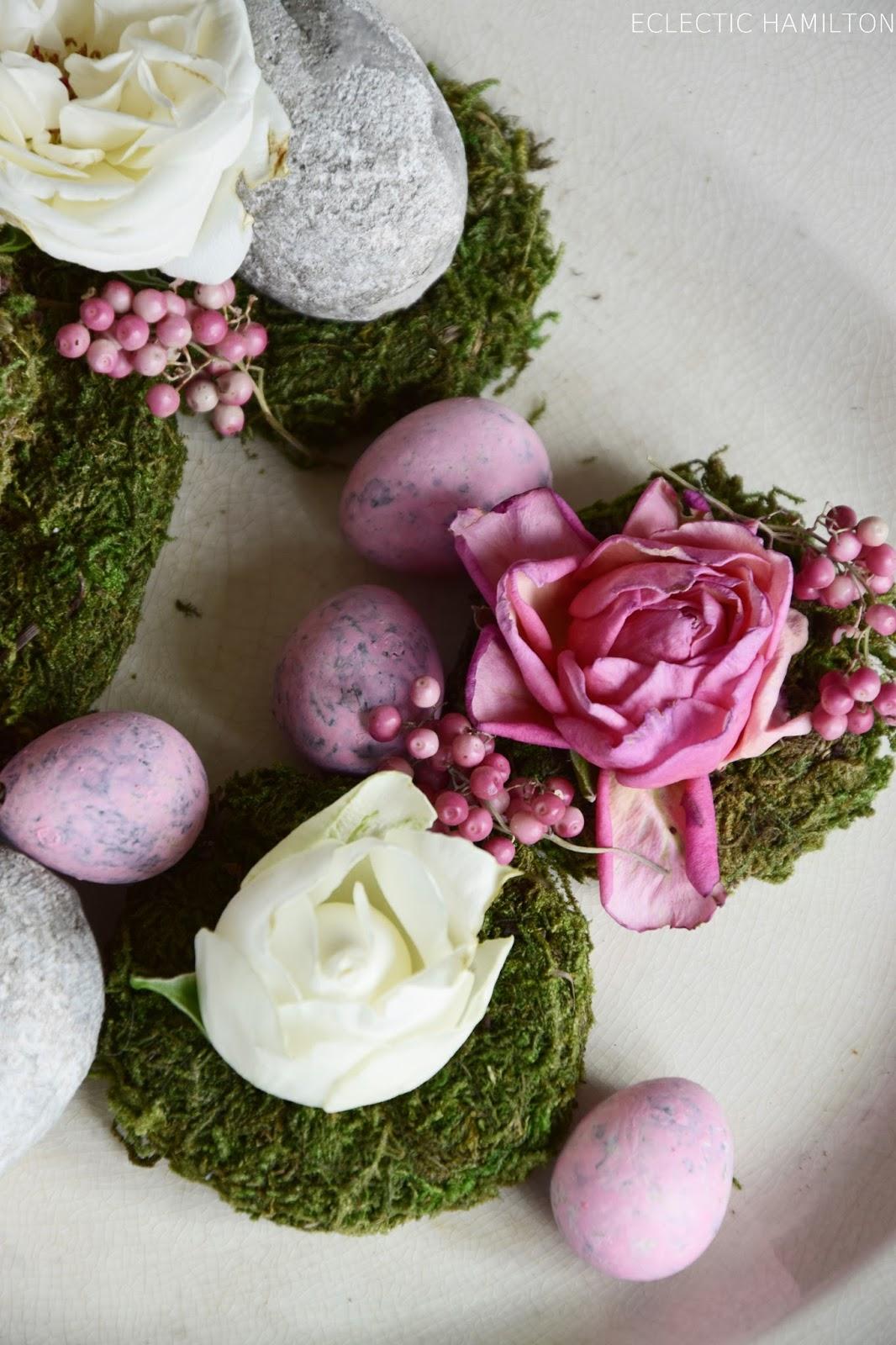 Deko mit verwelkten Rosenblüten | ECLECTIC HAMILTON