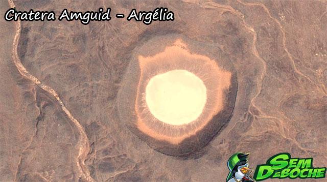Cratera Amguid - Argélia