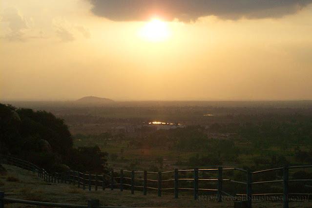 Sunset at Sittannavasal Pudukottai Tamil Nadu