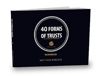 View blog 40 Forms of Trusts workbook release by Matthew Burgess