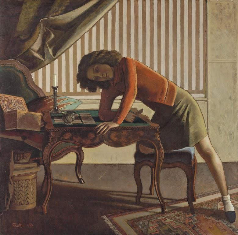 Paciência - Balthus e sua fixação por garotas e gatos ~ Pintor francês