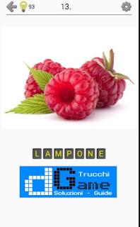 Soluzioni Frutti, verdure e noce livello 13