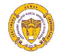 Latest Jobs in Government College Women University Faisalabad  GCWUF  2021