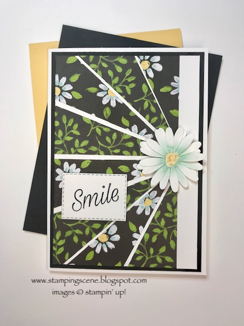 starburst papercraft technique card
