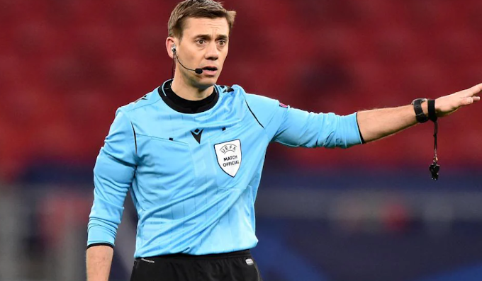 French referee Clément Turpin's assignment UEFA Europa League final