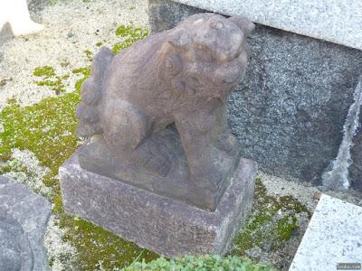 都島神社狛犬