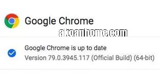حل مشكلة متصفح جوجل كروم