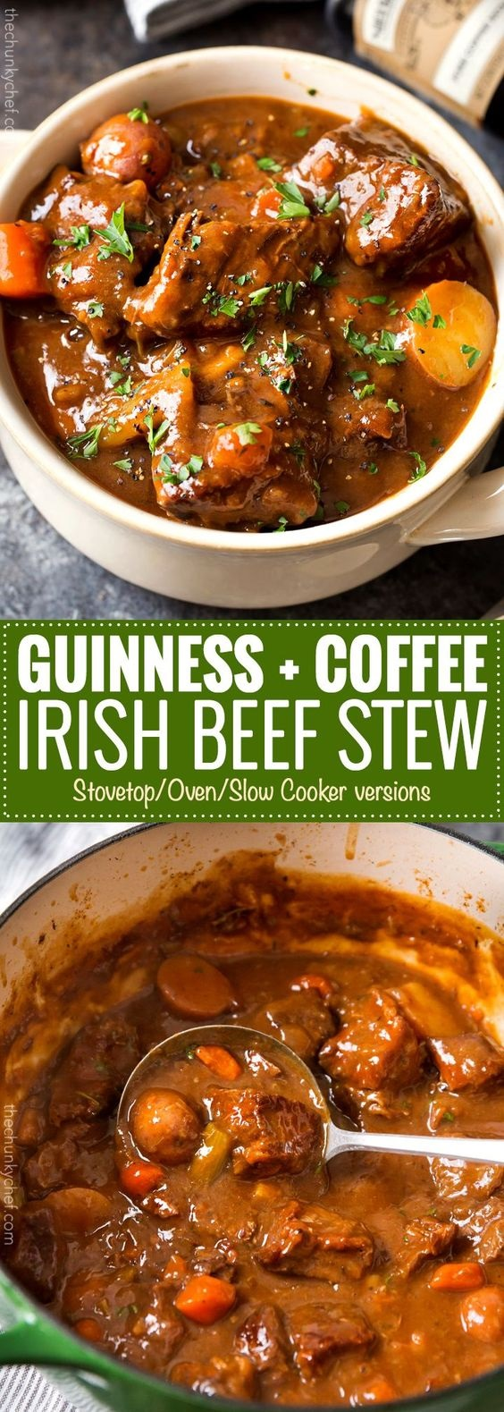 Irish Beef Stew With Guinness And Coffee
