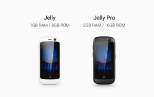 Jelly is a 4G Smartphone with 2.45-inch Display & Android 7.0 Nougat