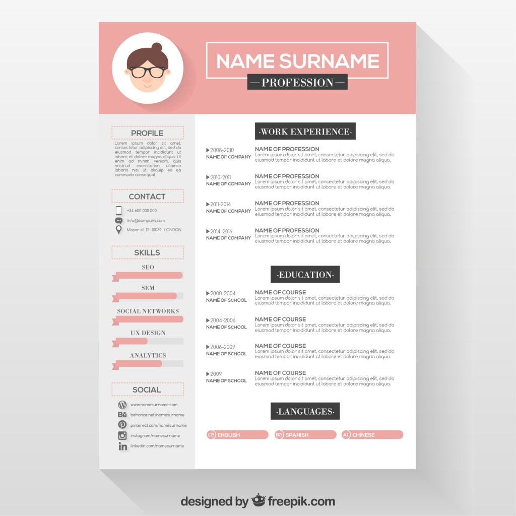 Best Top 3 Resume Template 2016 Free Download