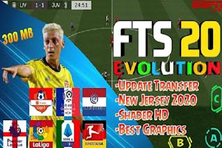 Anda jangan lupa untuk Unduh juga file  Download FTS 20 EVOLUTION by Azizperfect