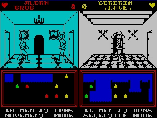 Throne of Fire - Spectrum ZX
