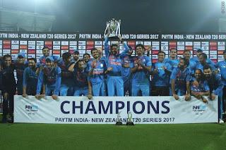 India vs New Zealand 3rd T20I 2017 Highlights