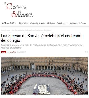 http://www.lacronicadesalamanca.com/153736-las-siervas-de-san-jose-celebran-el-centenario-del-colegio/