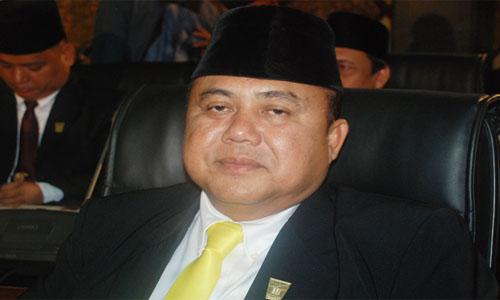 Wahyu IP Pamit Pada Warga Saat Safari Ramadhan.