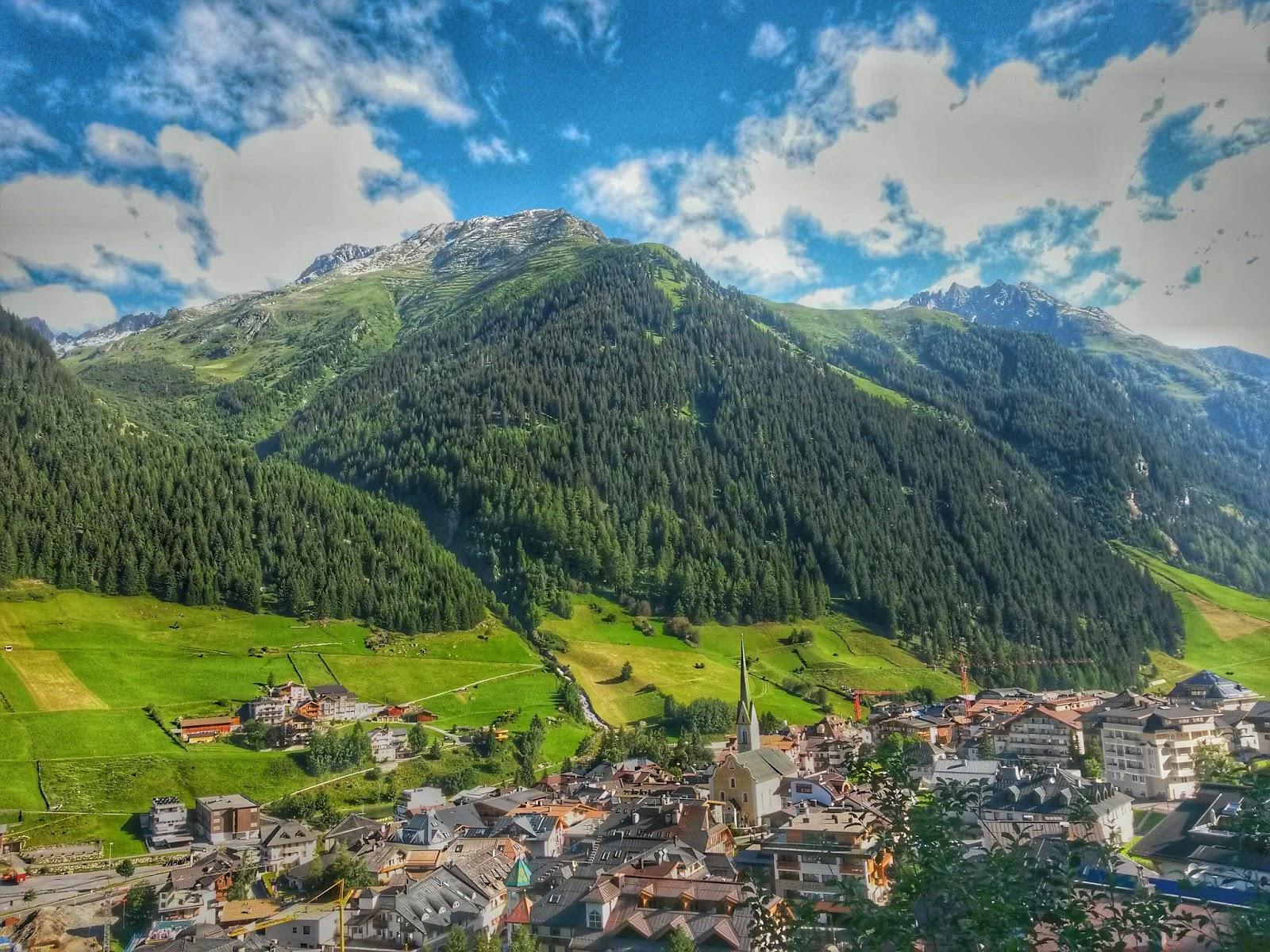 Ischgl Alpy Tyrol