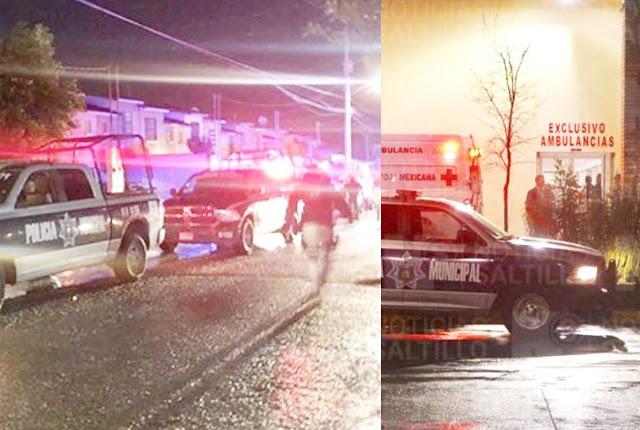 En Saltillo; Coahuila un Policía es asesinado por defender a una Familia