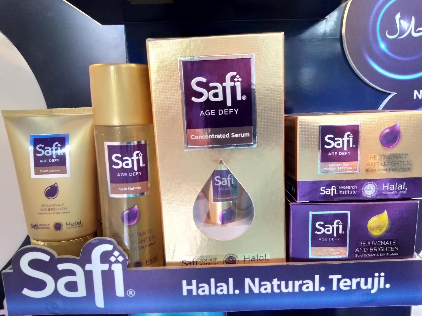 Safi Skincare Halal Natural Dan Teruji Siswiyantisugi