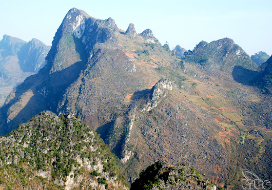Dong Van Karst Plateau - Global geological park in Ha Giang - World Heritage in Vietnam