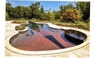 Glass Tile Inground Pool Cipriano Landscape Design Pool Tile New Design 2016