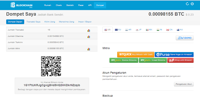 Cara Mendaftar Wallet Bitcoin Di Blockchain Terbaru