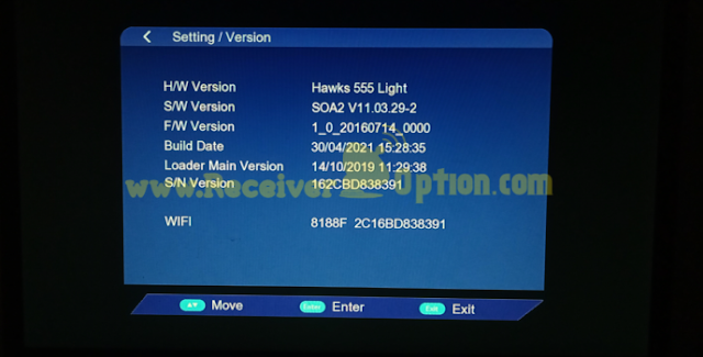 HAWKS 555 LIGHT 1506TV 512 8M NEW SOFTWARE WITH G SHARE PLUS V2 OPTION 30 APRIL 2021