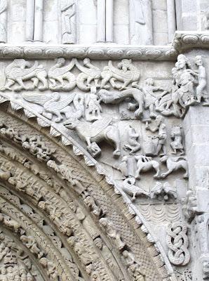 Navarra; Nafarroa; Sangüesa; Zangoza; Iglesia de santa María la Real; Santa María la Real; Románico; Románica