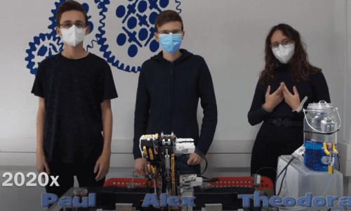 Η Γιαννιώτικη ομάδα RobotMasters με τους Θεοδώρα Μανίκα (Λύκειο Ανατολής), Αλέξανδρο Λώλο (1ο ΕΠΑΛ Ιωαννίνων), Παύλο Μανίκα (Λύκειο Ανατολής) και προπονητή τον εκπαιδευτικό πληροφορικής – επιστημονικό υπεύθυνό του κέντρου STEMEducationΔημήτριο Κράββαρη βρίσκεται στις 14 καλύτερες ομάδες ρομποτικής του κόσμου, εκπροσωπώντας την Ελλάδα στην Ολυμπιάδα του Καναδά 2020 (https://wro2020canada.org/index.php/en-ca/), η οποία φέτος διεξάγεται διαδικτυακά λόγω της πανδημίας.