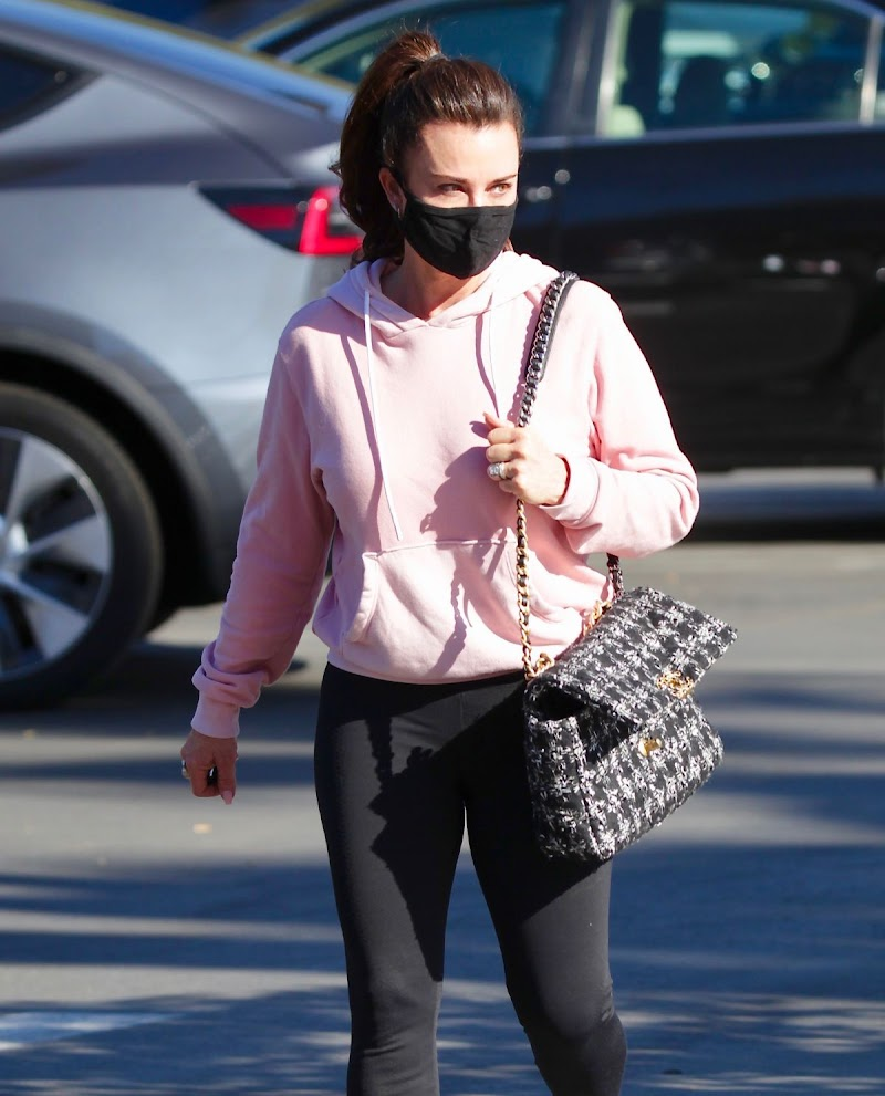 Kyle Richards Spotted At CVS Store in Los Angeles 8 Jan- 2021