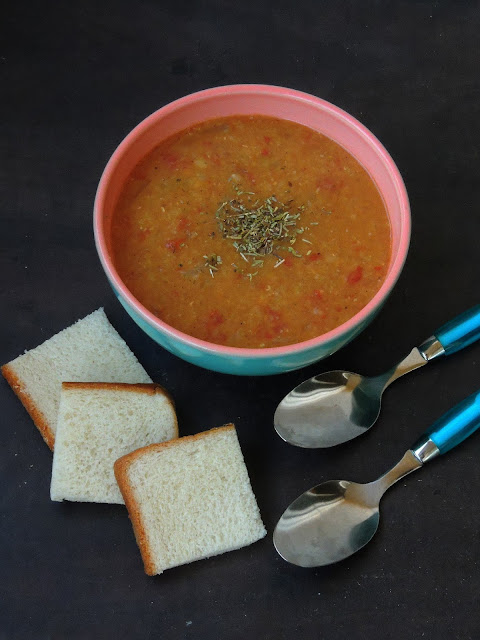 Sudanese Addas, Red Lentils Soup