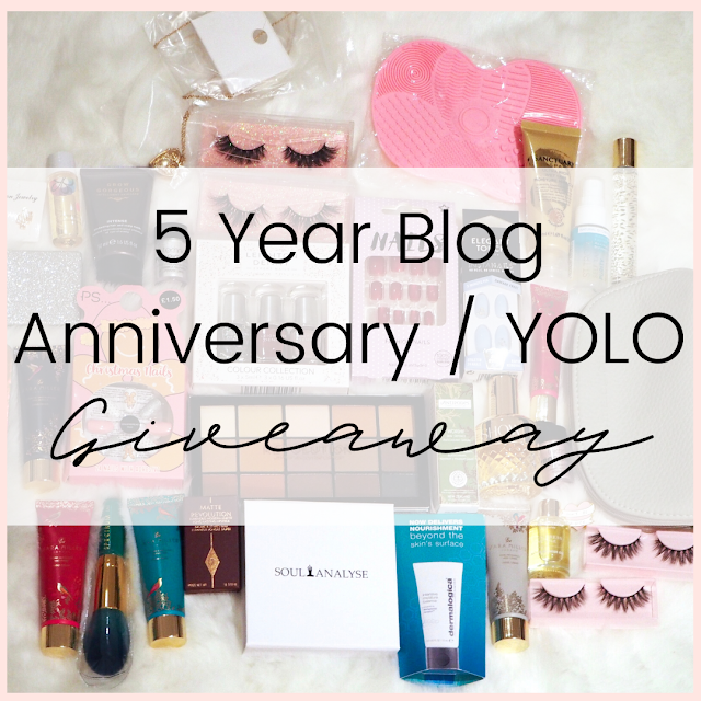 5 YEARS Of Lovelaughslipstick Blog #Giveaway