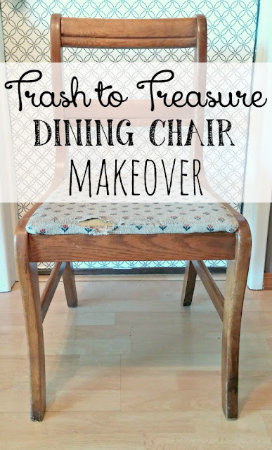 What to do with a single, ugly dining chair!